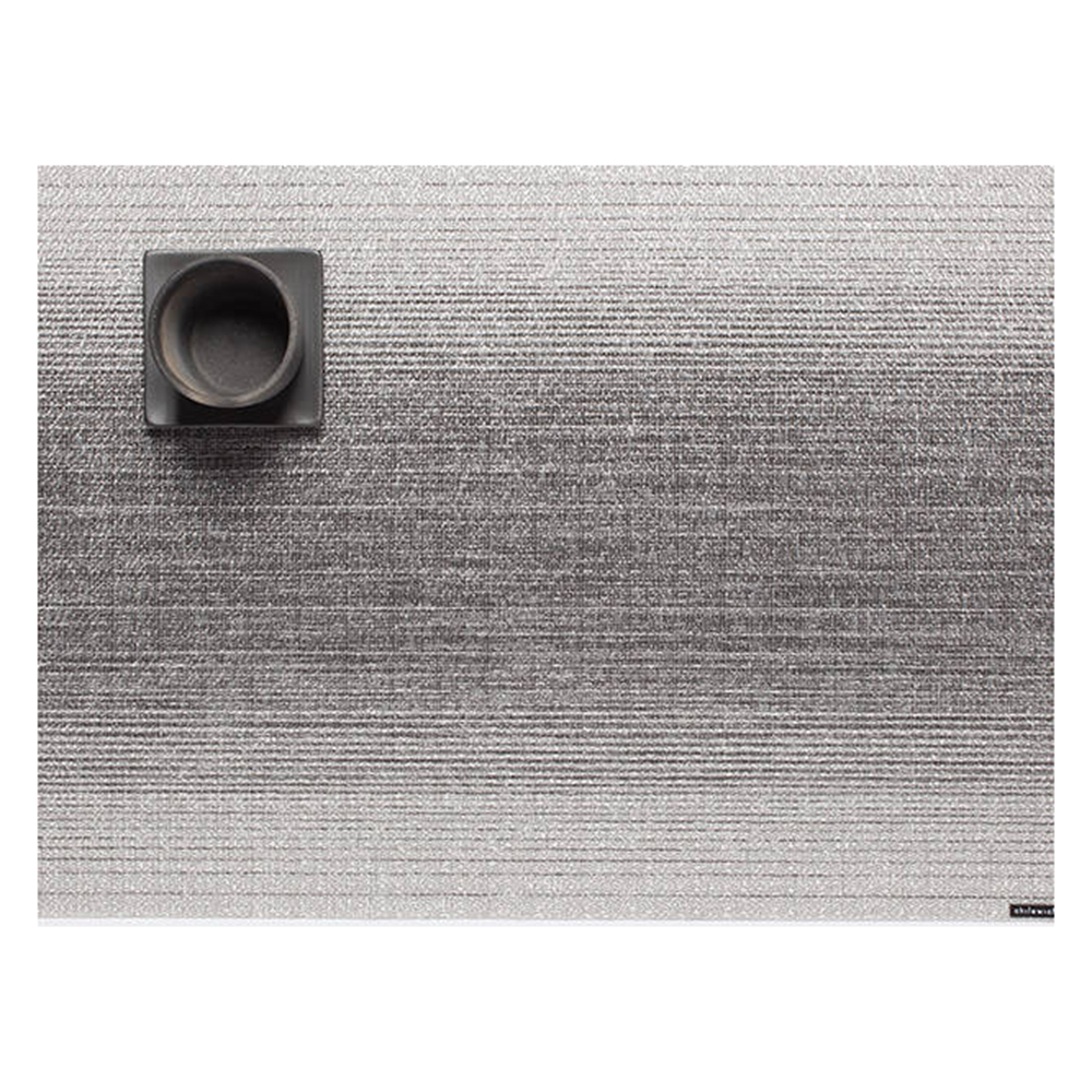chilewich placemat ombre silver 02 1000