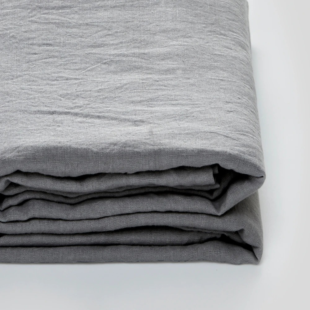 in bed linen cool grey sheet 1000
