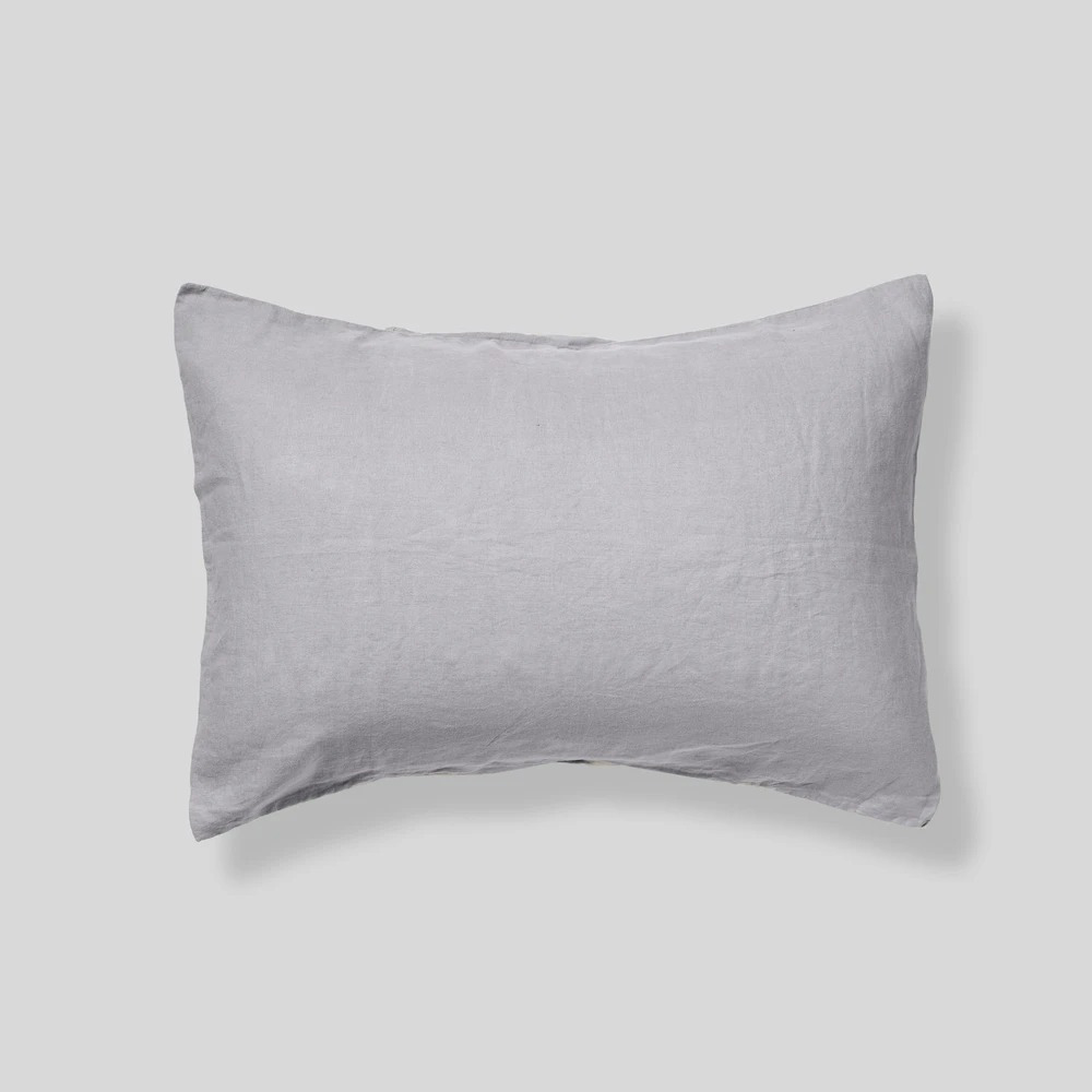 in bed linen pillowcase cool grey 01 1000