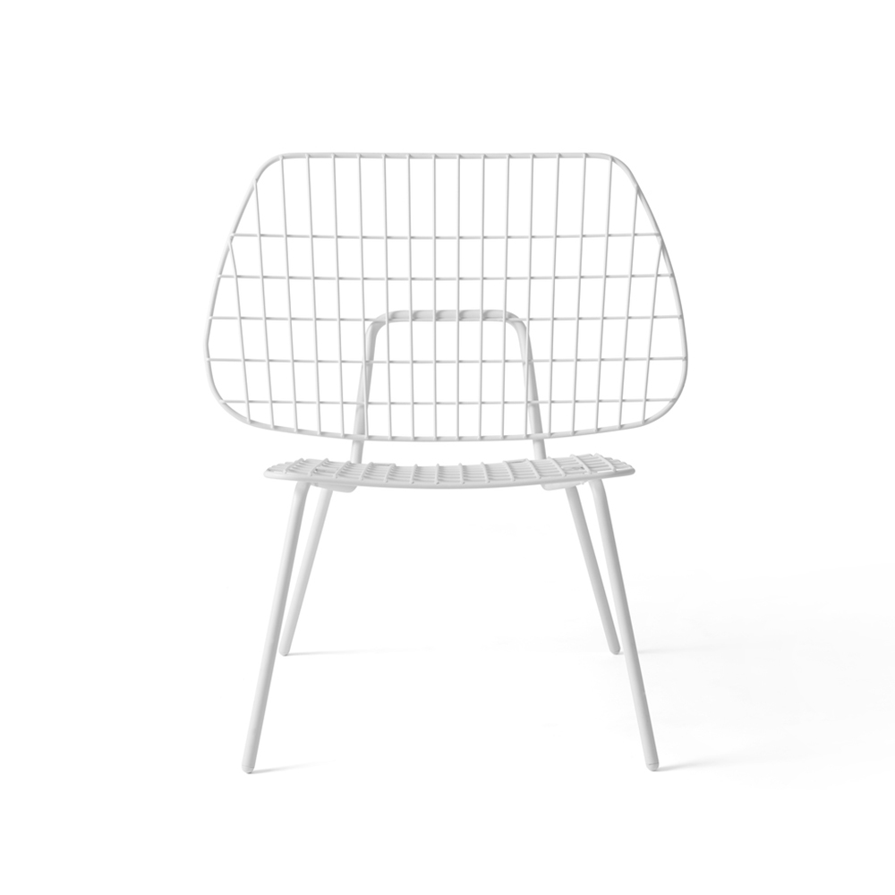 menu string lounge chair white front 1000