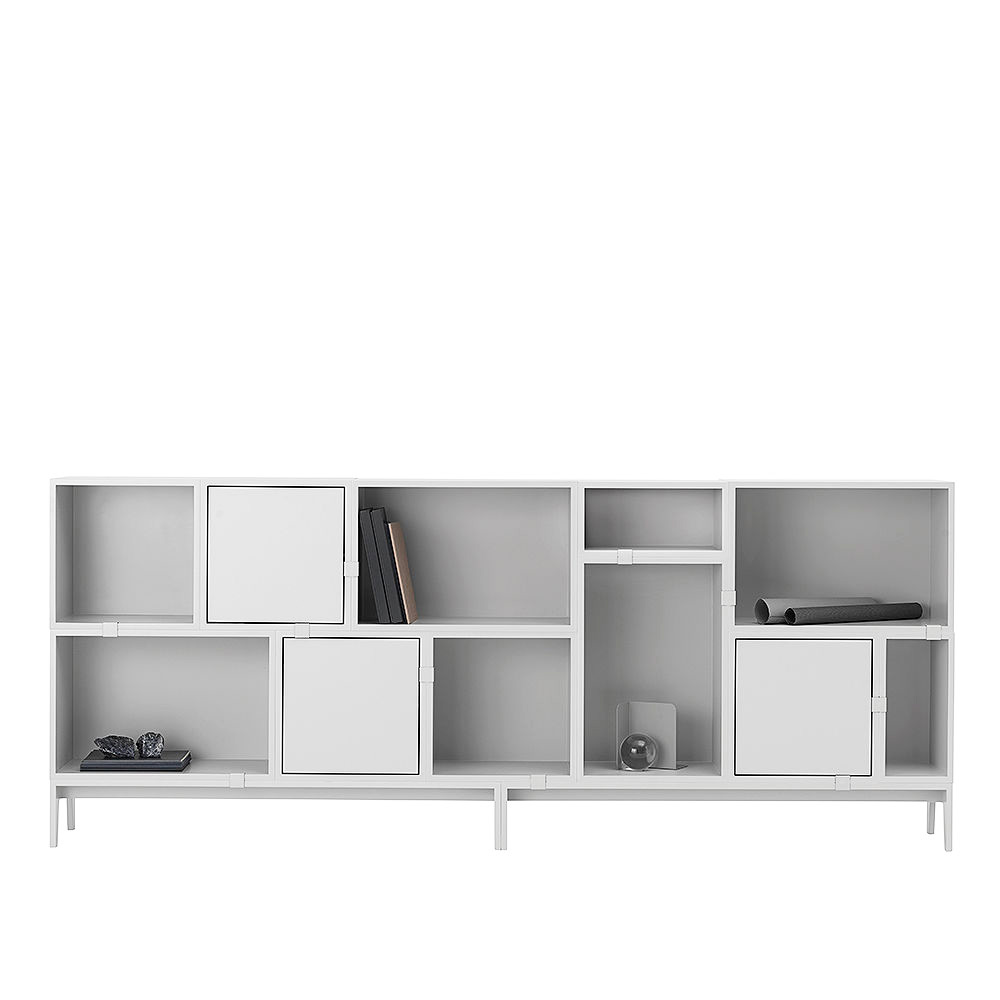 muuto stacked solution 8 light grey styling muuto 1000
