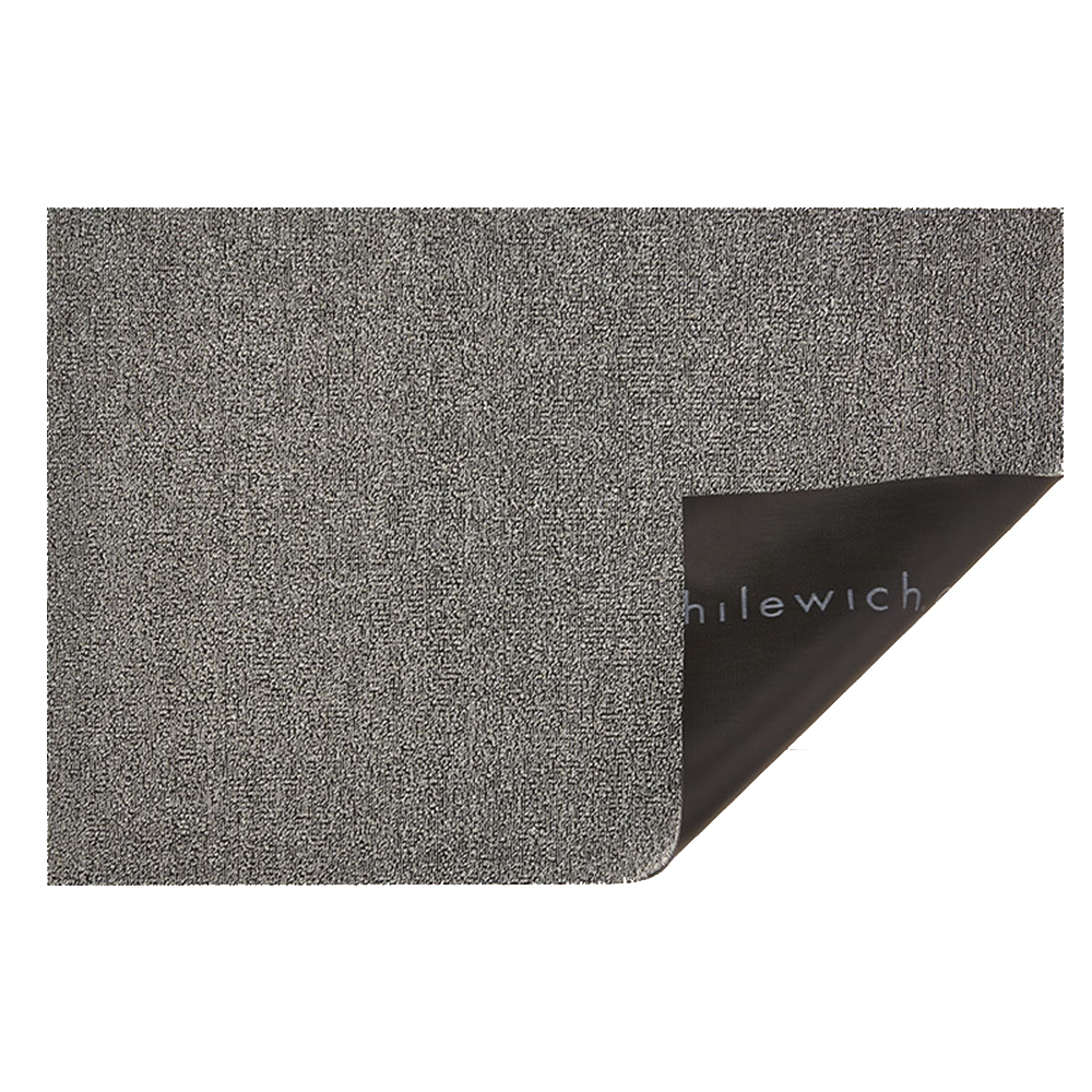 chilewich shag doormat heathered fog 1000
