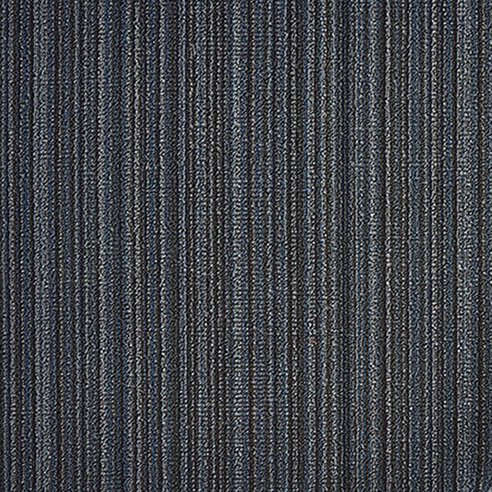 chilewich shag doormat skinny stripe blue detail 1000