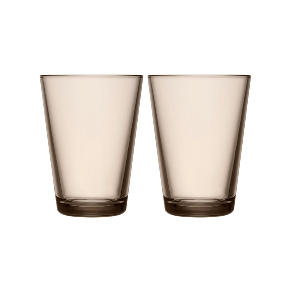 iittala kartio highball glass set linen 1000