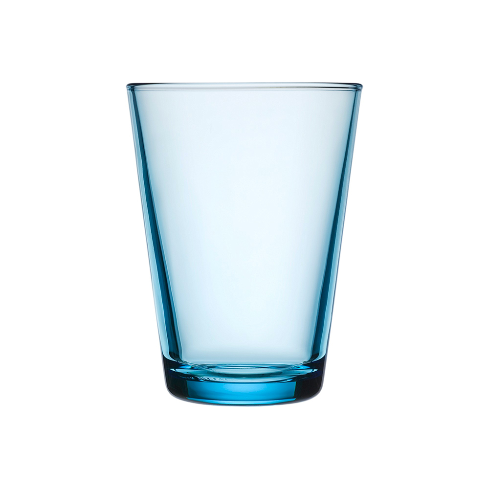 iittala kartio highball glass light blue 1000