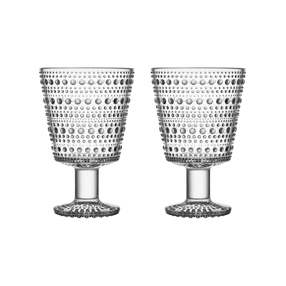 iittala kastehelmi universal glass clear set 1000