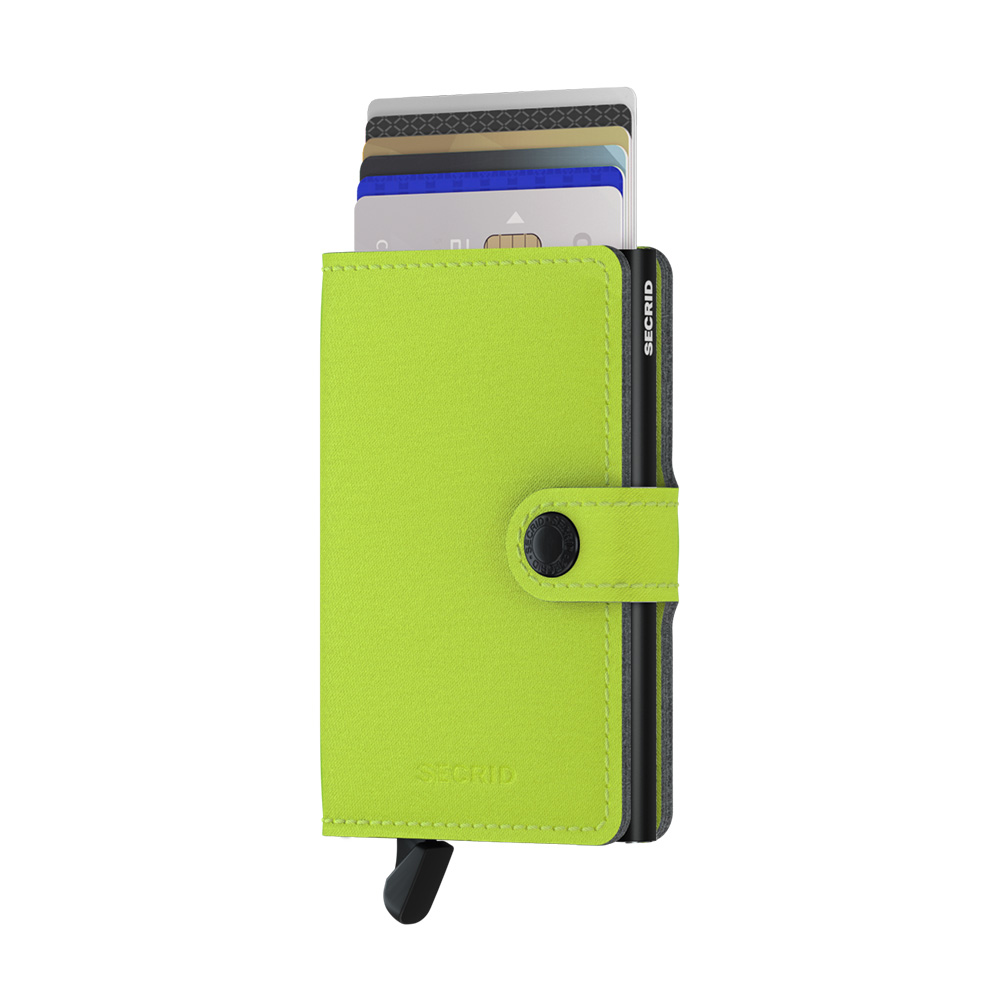 secrid miniwallet yard lime front cards 1000