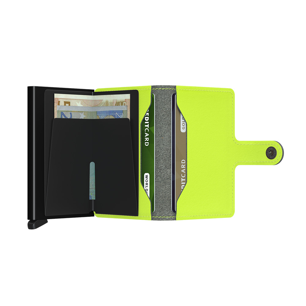 secrid miniwallet yard lime open 1000