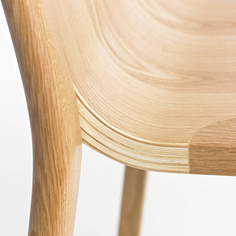 go home hollywood chair oak seat detail 1000