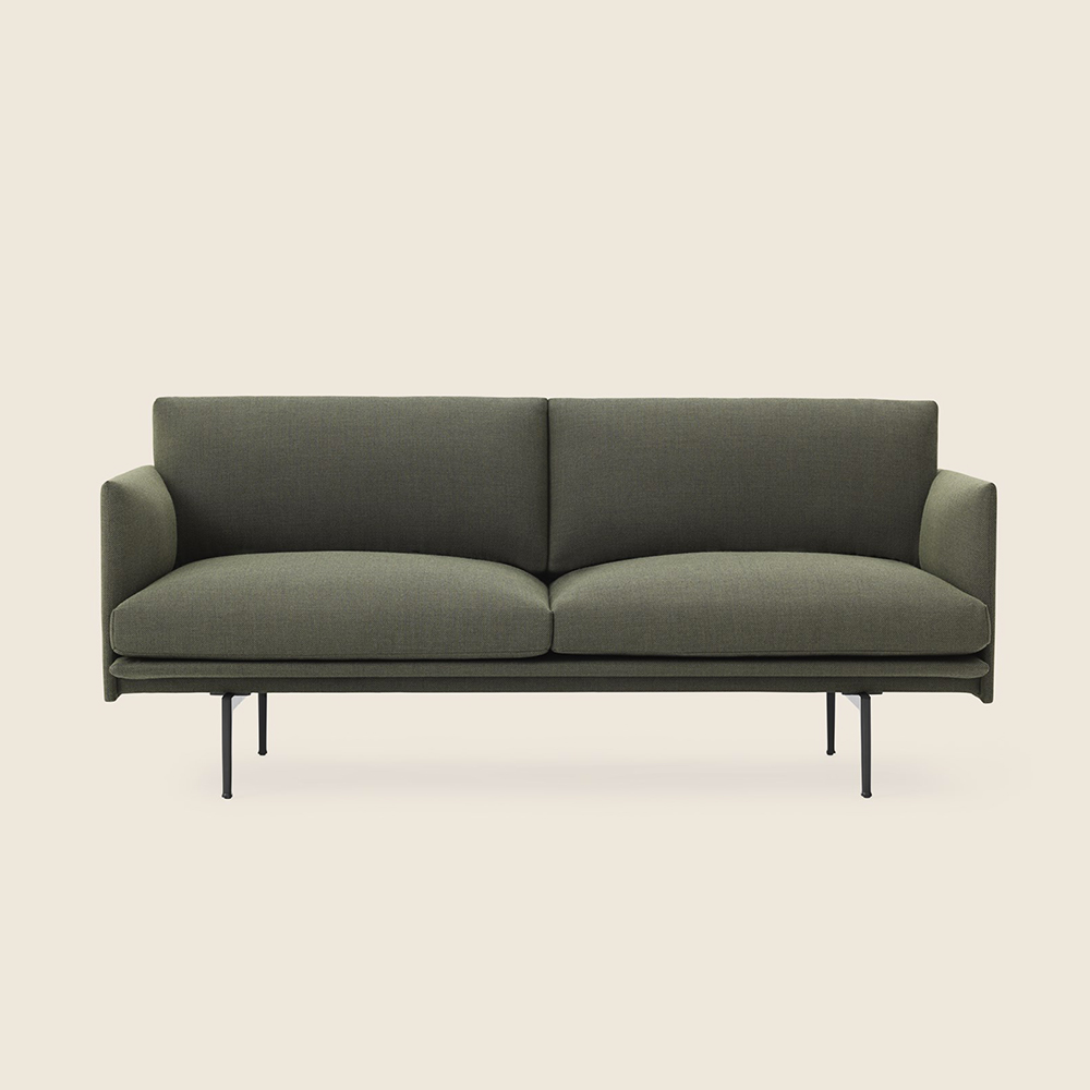 muuto outline 2 seater sofa fiord 961 front 01 1000