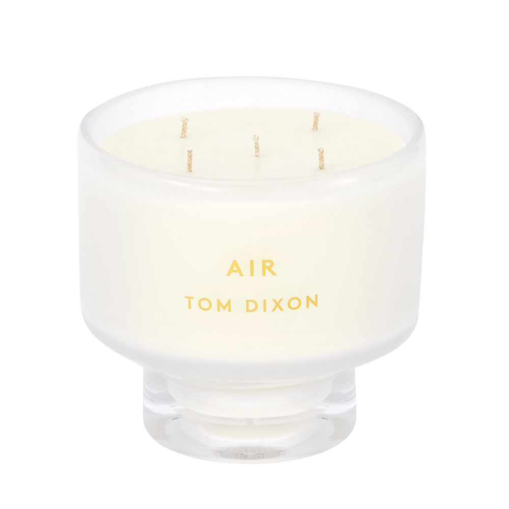 tom dixon elements candle air large open lid 1000