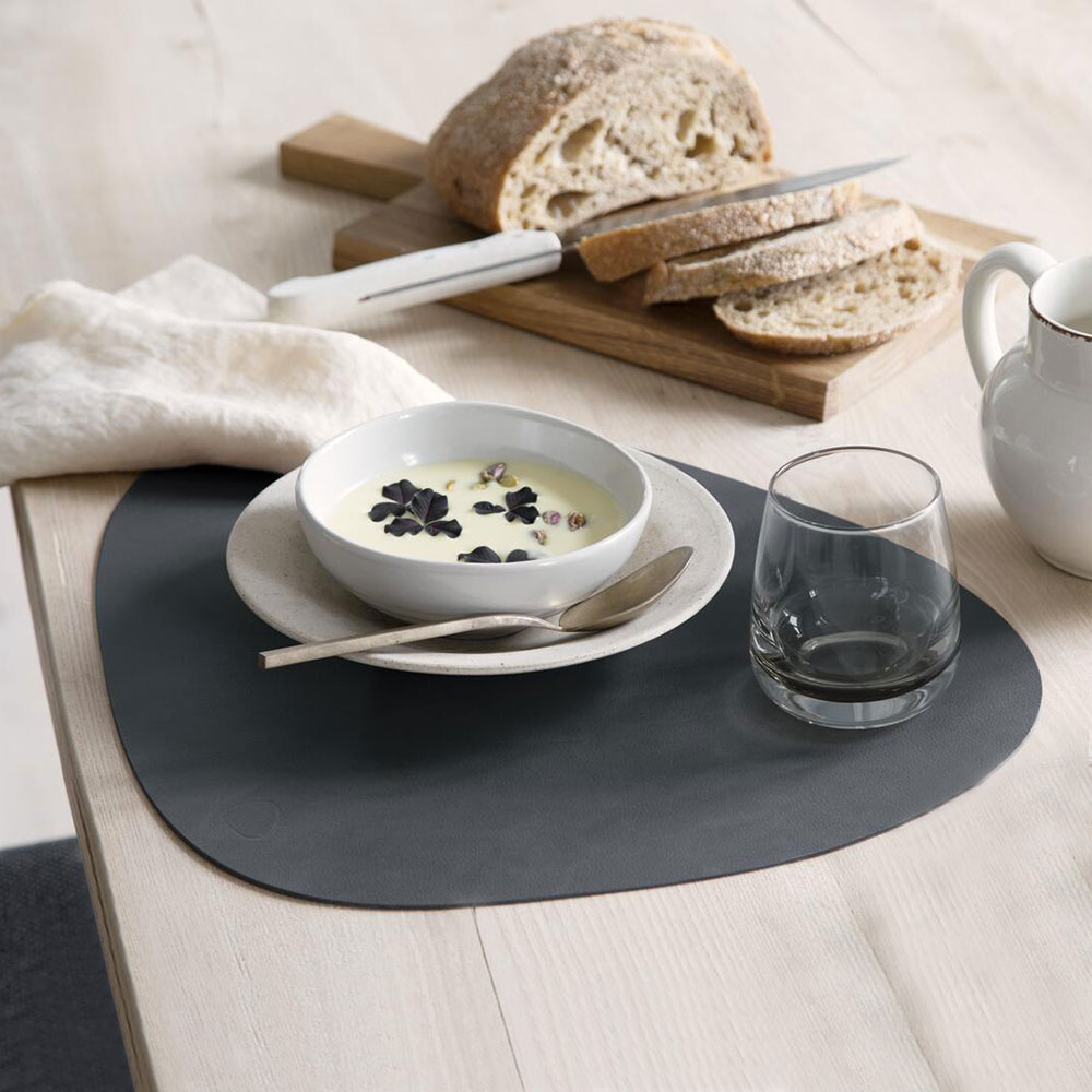 lind dna tablemat curve nupo anthracite lifestyle 1000