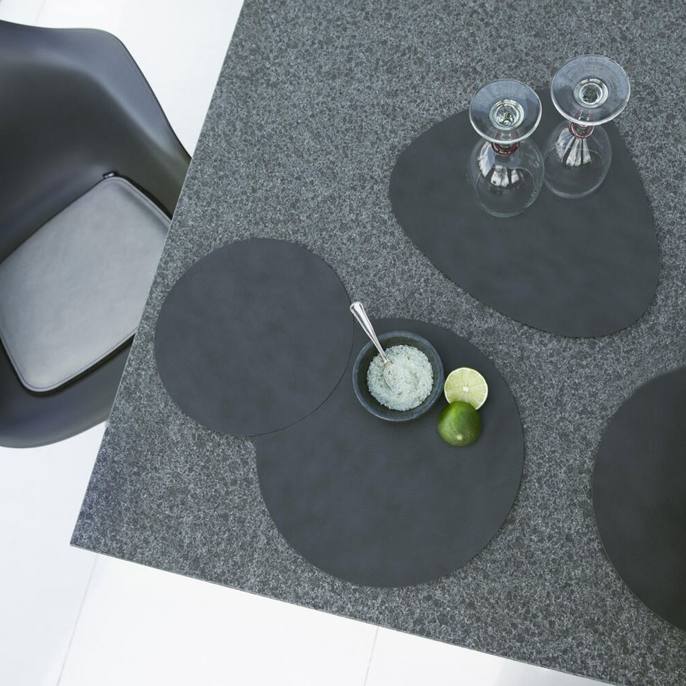lind dna tablemat circle medium nupo anthracite lifestyle 1000