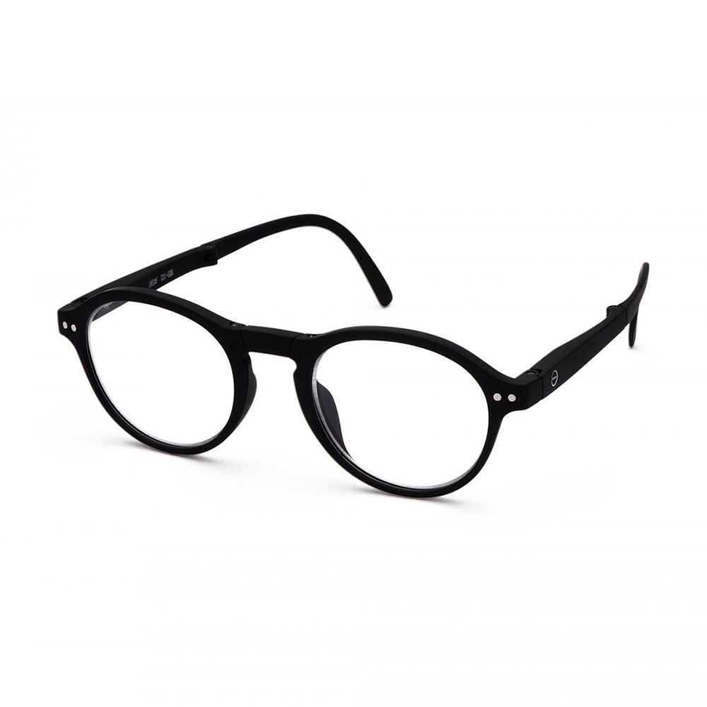 izipizi reading glasses f black angle 1000