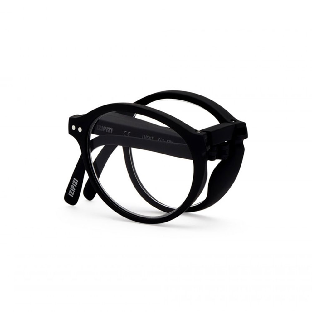 izipizi reading glasses f black folded 1000