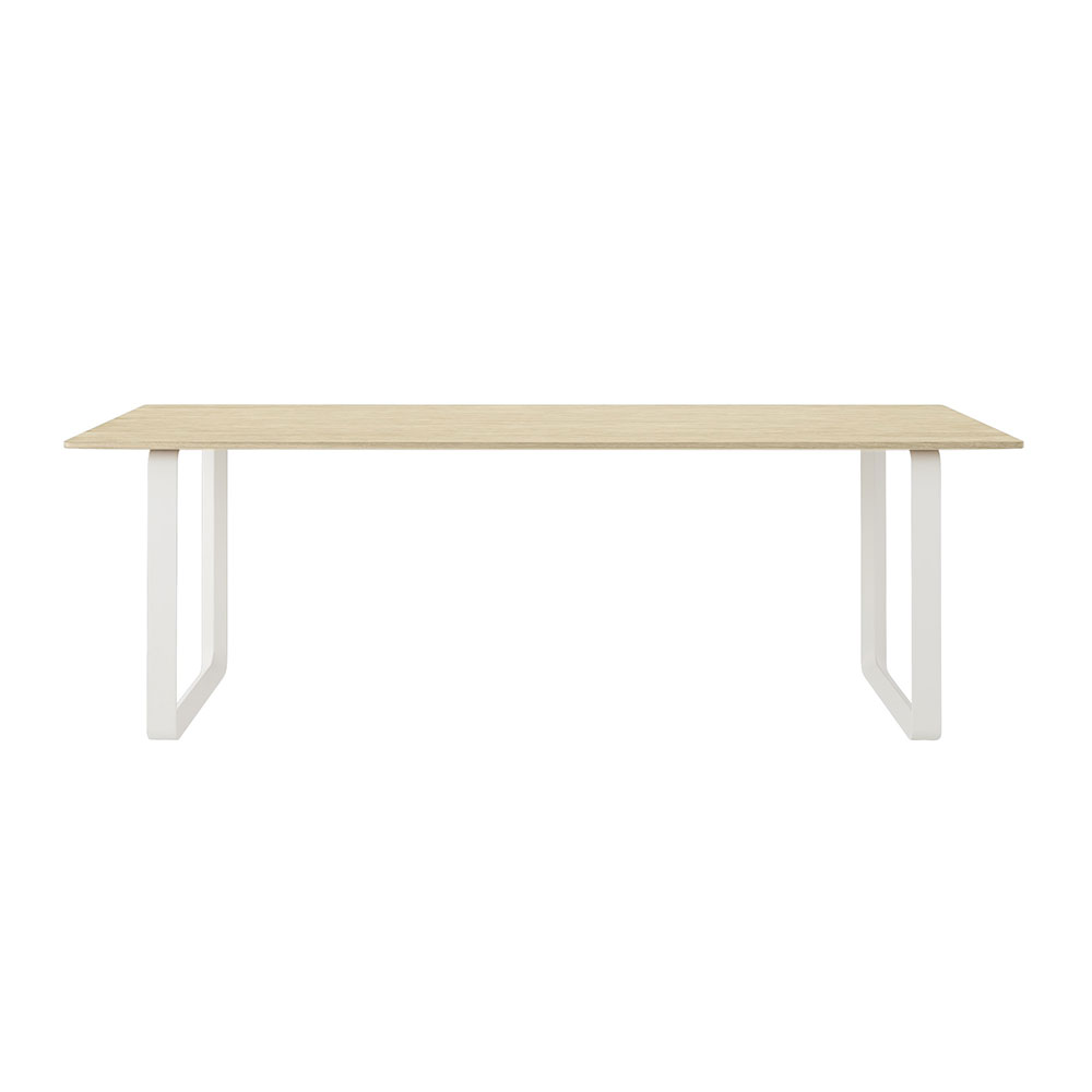 muuto 70 70 table solid oak white front 1000