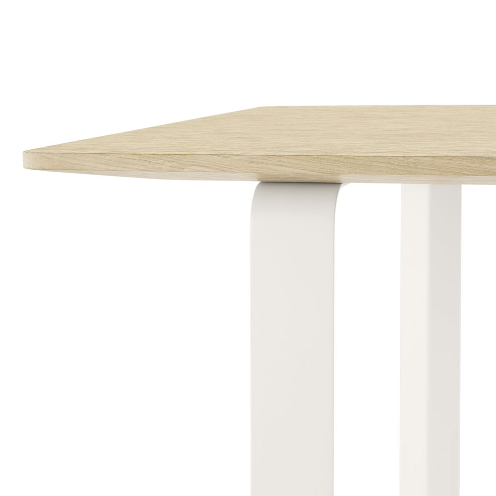 muuto 70 70 table solid oak white detail 01 1000