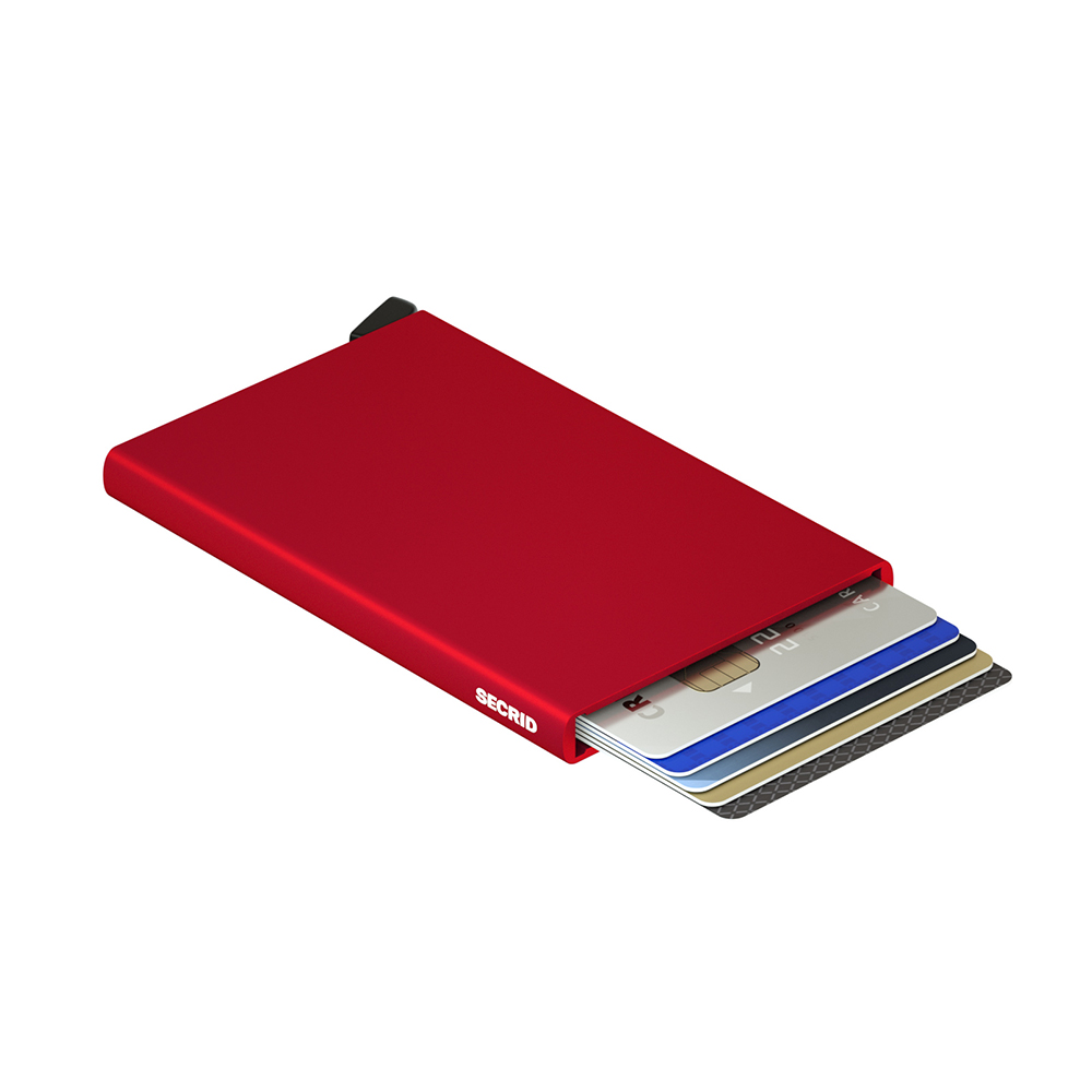 secrid cardprotector red open 1000