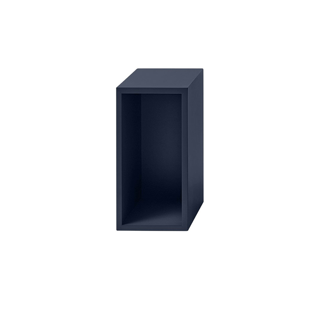 muuto stacked midnight blue small with back 1000