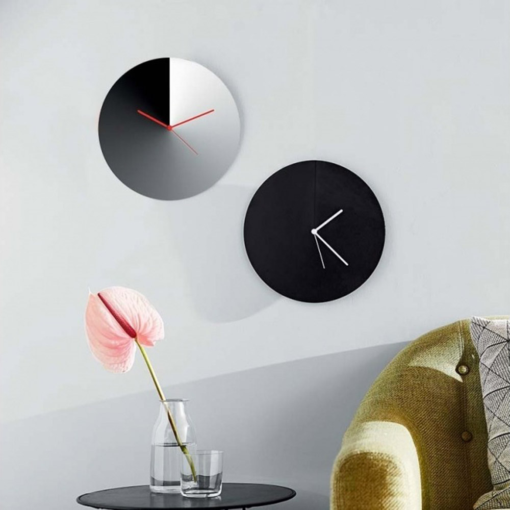 alessi arris wall clock lifestyle 1000