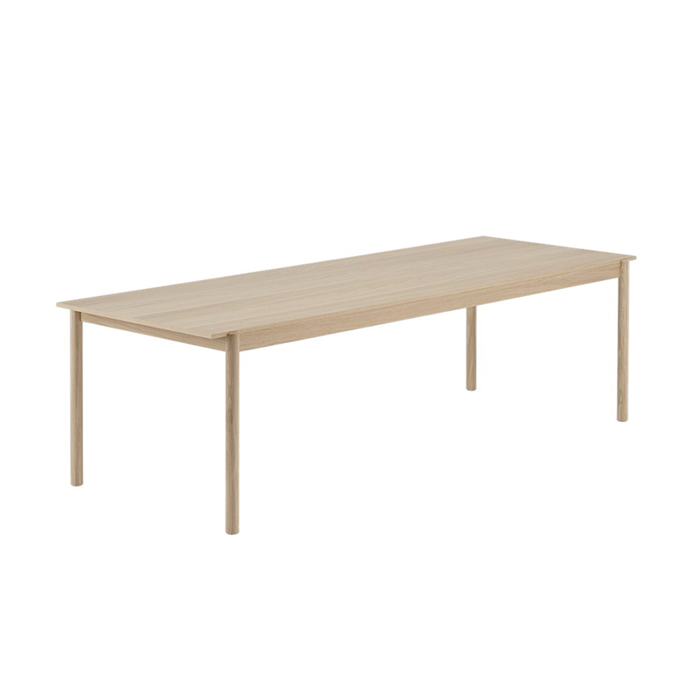 muuto linear wood table 260cm 1000