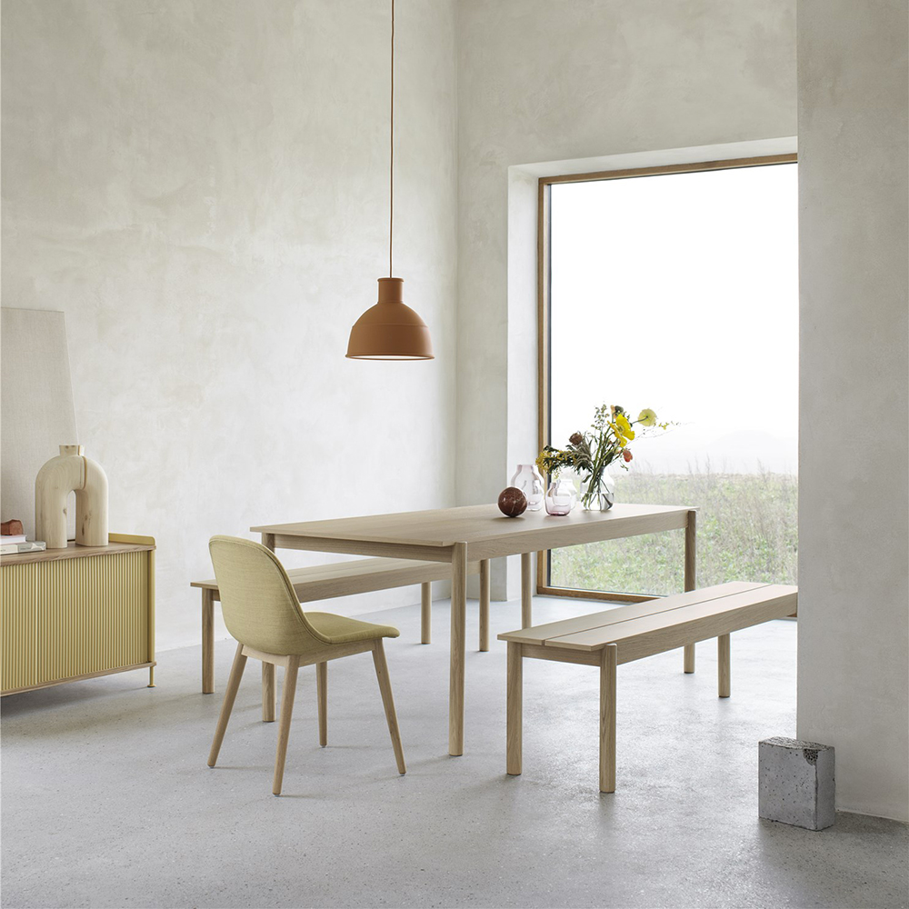 muuto linear wood table bench lifestyle 03 1000