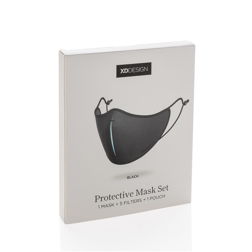 xd design protective face mask set black box 1000