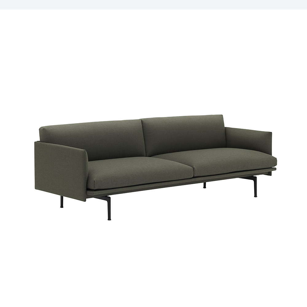 muuto outline 3 seater fiord 961 angle 1000