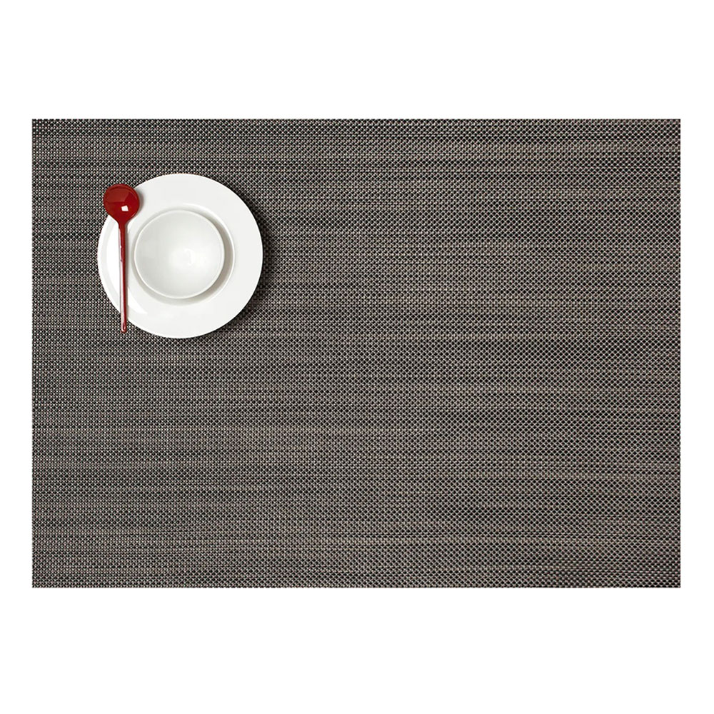 chilewich placemat mini basketweave rectangle light grey 01 1000