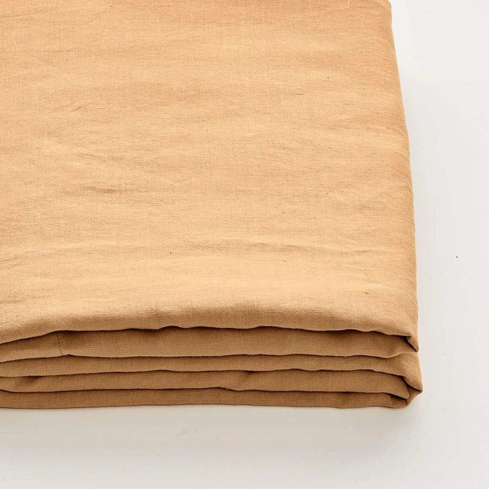 in bed linen sheet tan 1000