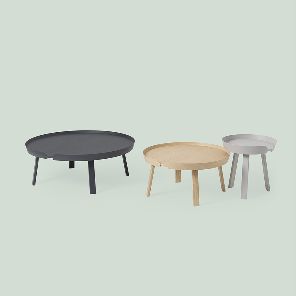 muuto around table group 1000