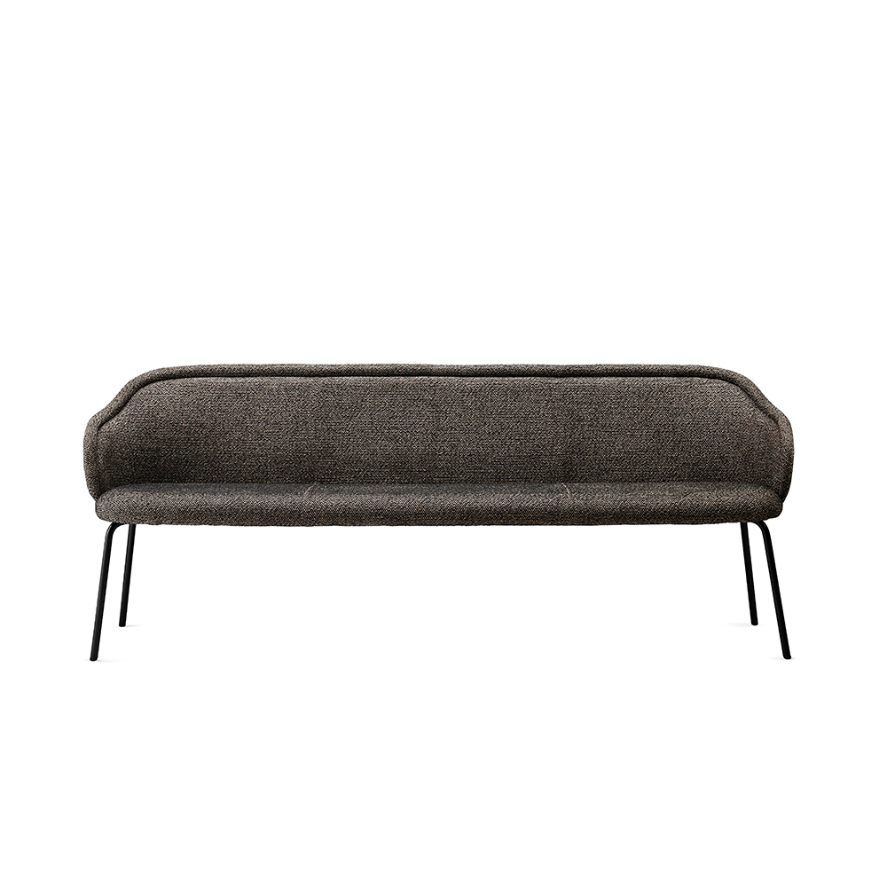 freifrau ona curved bench front 1000