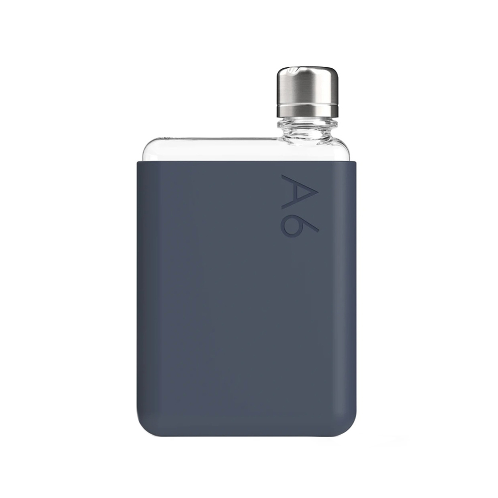 memobottle silicone sleeve a6 midnight blue bottle 1000