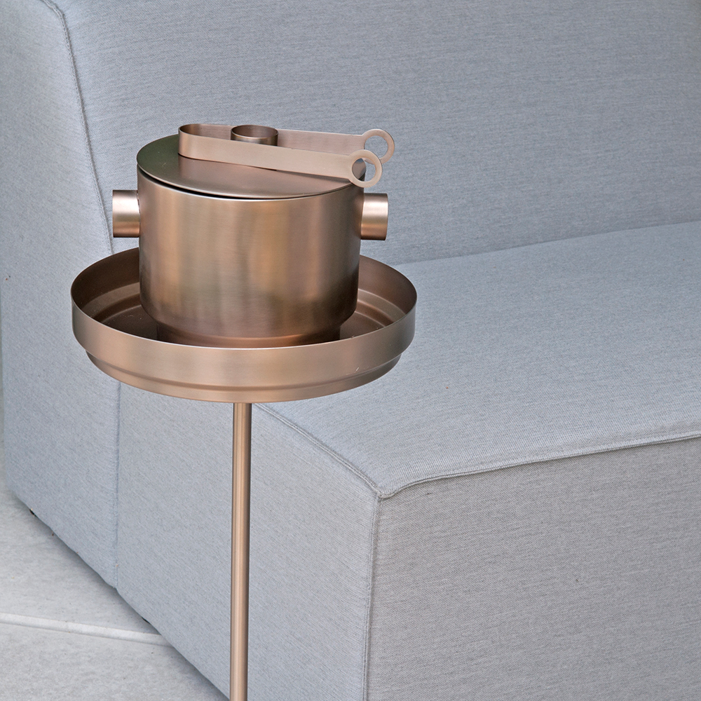 xlboom rondo collection ice bucket ice tong copper 1 1000