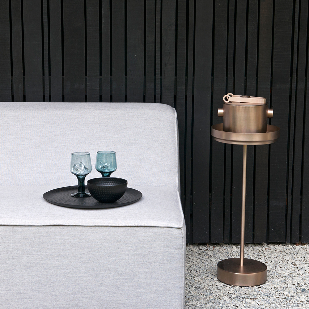 xlboom rondo collection ice bucket ice tong copper 3 1000