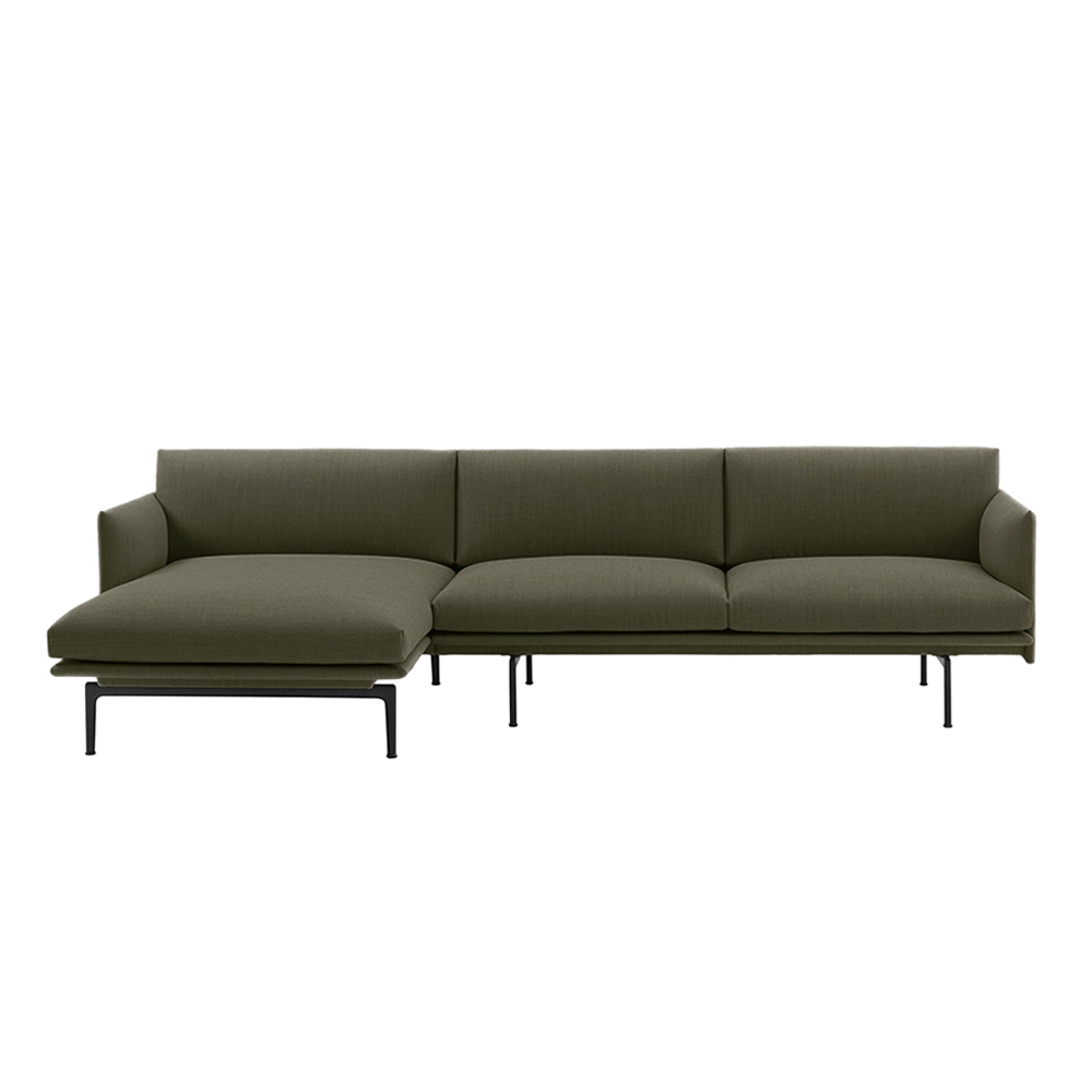 muuto outline chaise left 3 seater fiord 961 1000