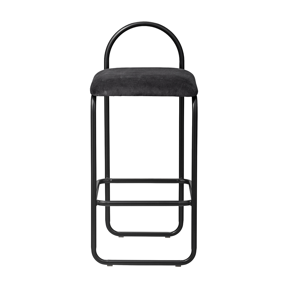 aytm angui bar stool low anthracite front 1000