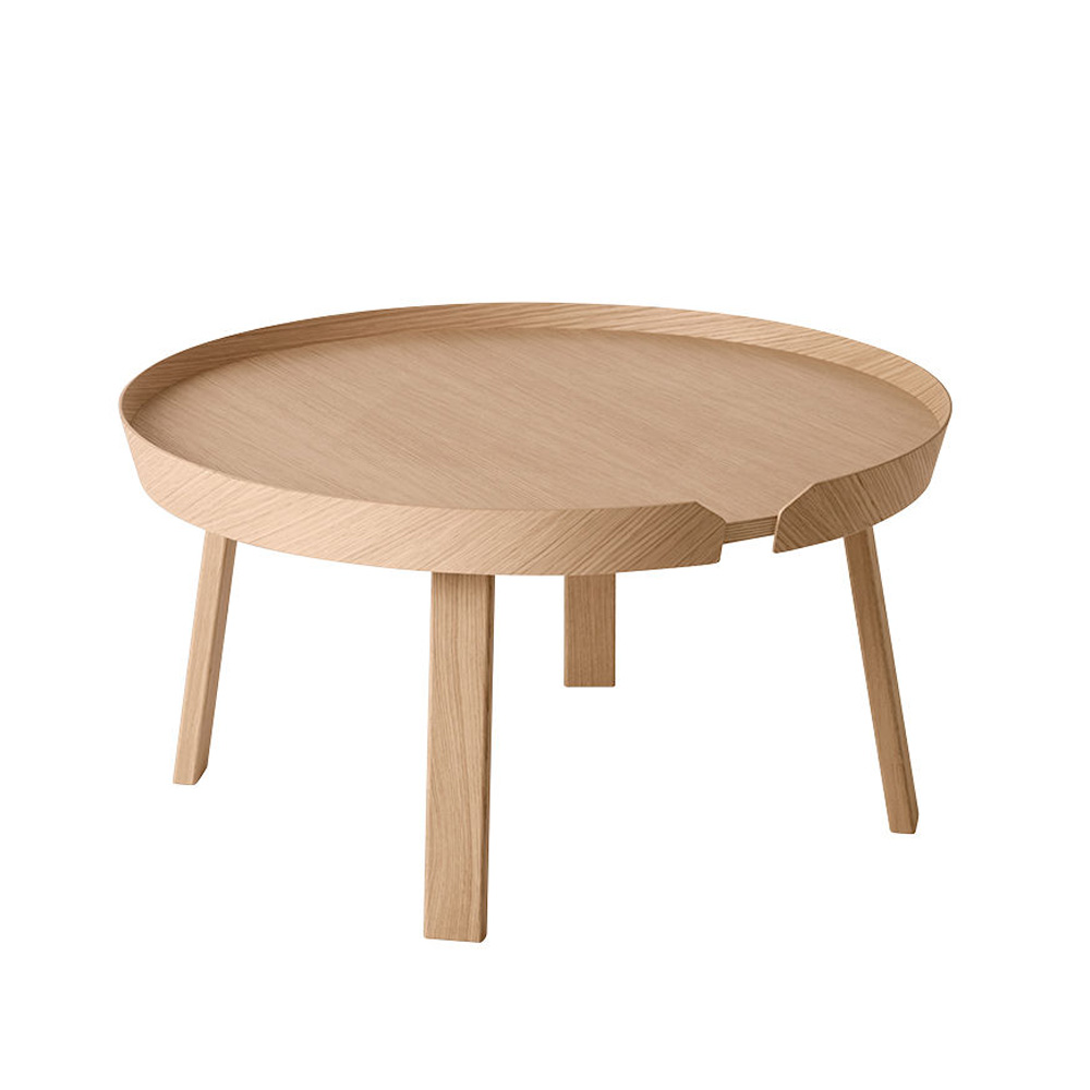 muuto around coffee table large oak 1000