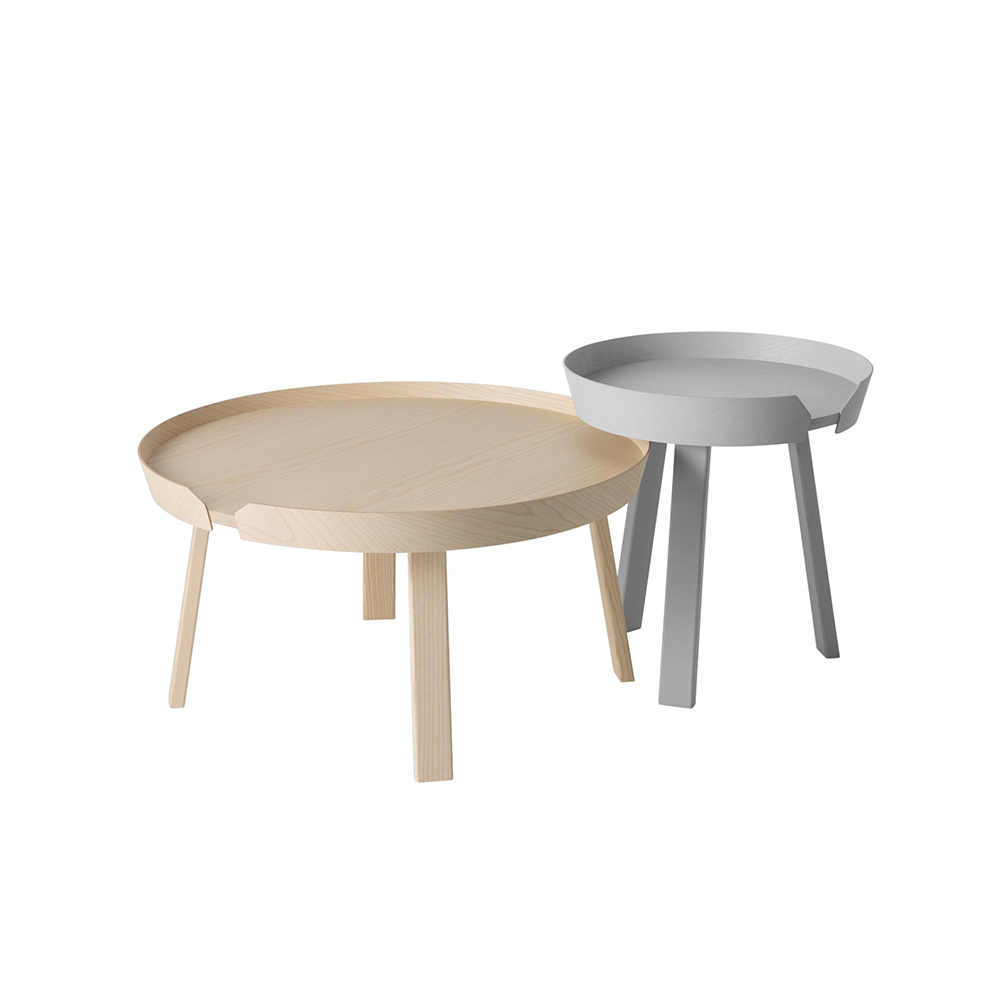 muuto around grey small oak large 1000