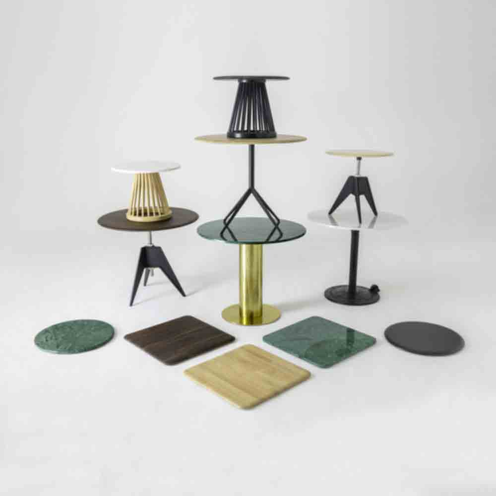 tom dixon table group tops bases 1000