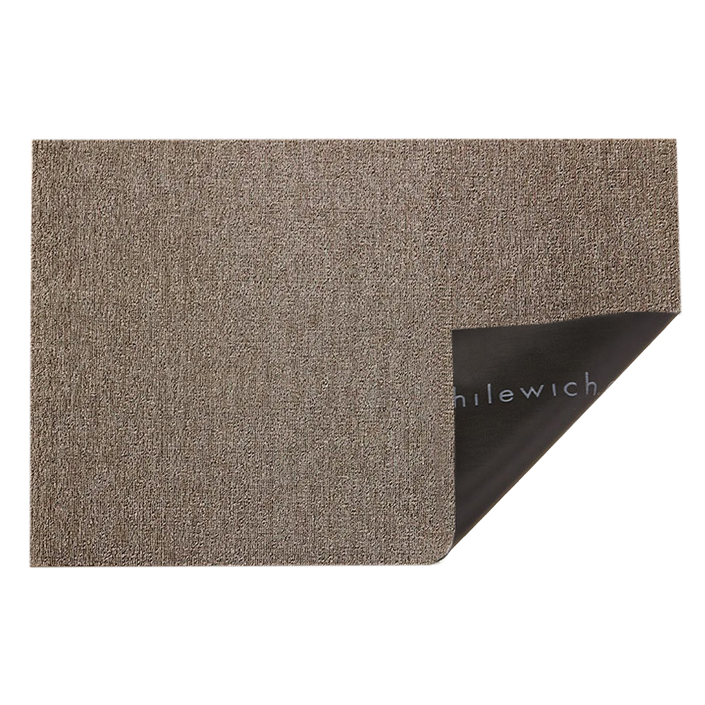 chilewich doormat heathered pebble fold 1000