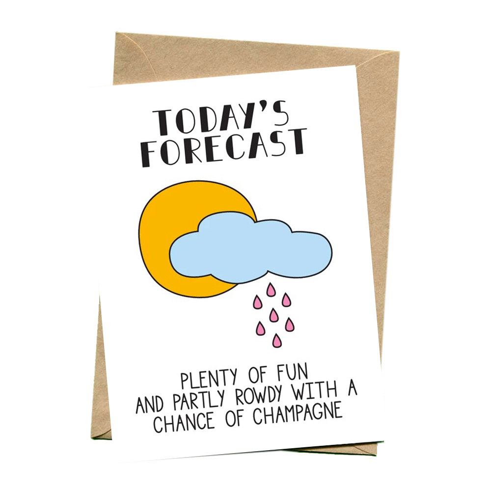 things by bean card todays forecast 1000