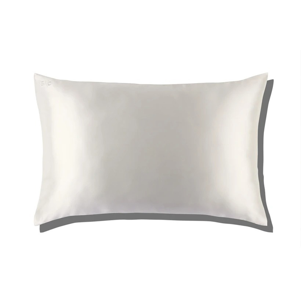 slip silk pillowcase white envelope 1000