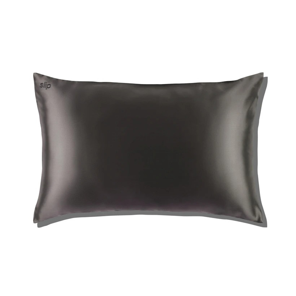 slip silk pillowcase charcoal envelope 1000