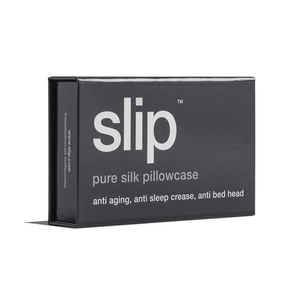 slip silk pillowcase charcoal box angle 1000