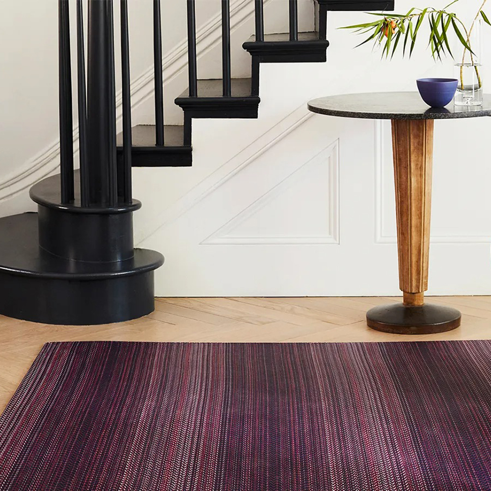 chilewich floormat quill mulberry lifestyle 02 1000