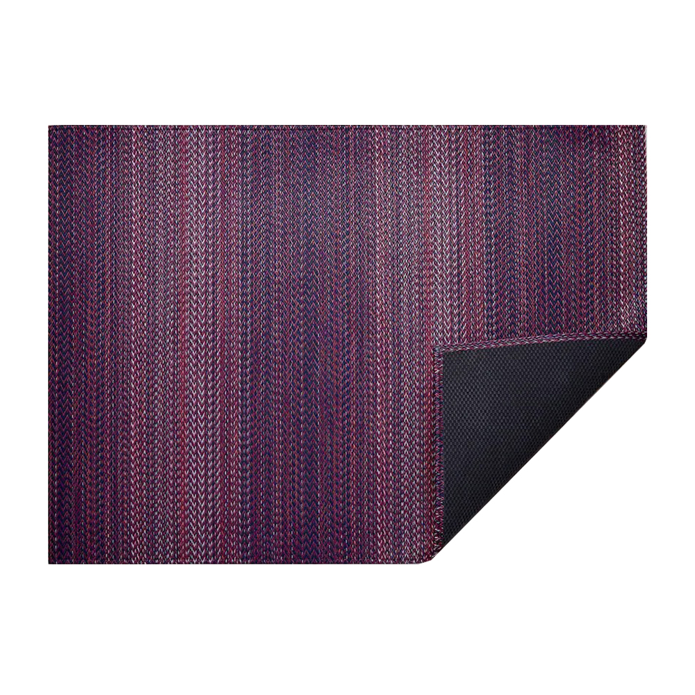 chilewich floormat quill mulberry 1000