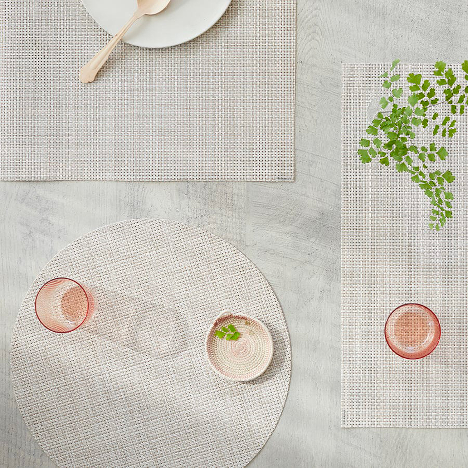 chilewich tablemat basketweave natural 01 1500
