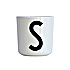 Design Letters Melamine Cup S