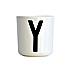 Design Letters Melamine Cup Y